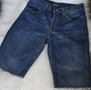 7 For All Mankind Cut Off Shorts Sz. 31.